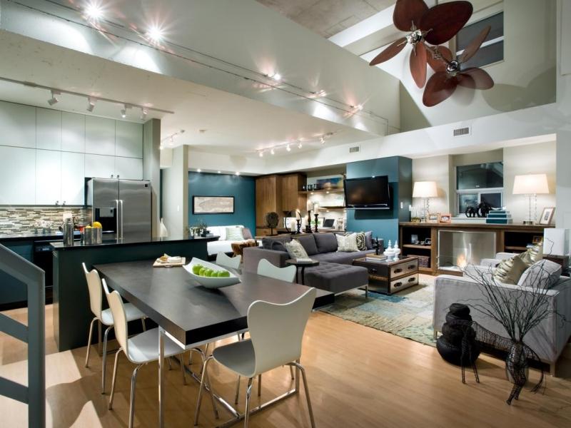 Offene Küche Kreativ On Andere Mit Wohnzimmer Pro Contra Und 50 Ideen 6