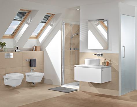 Perfekt On Badezimmer Beabsichtigt Bad Mit Dachschräge Raum Clever Nutzen Villeroy Boch 2