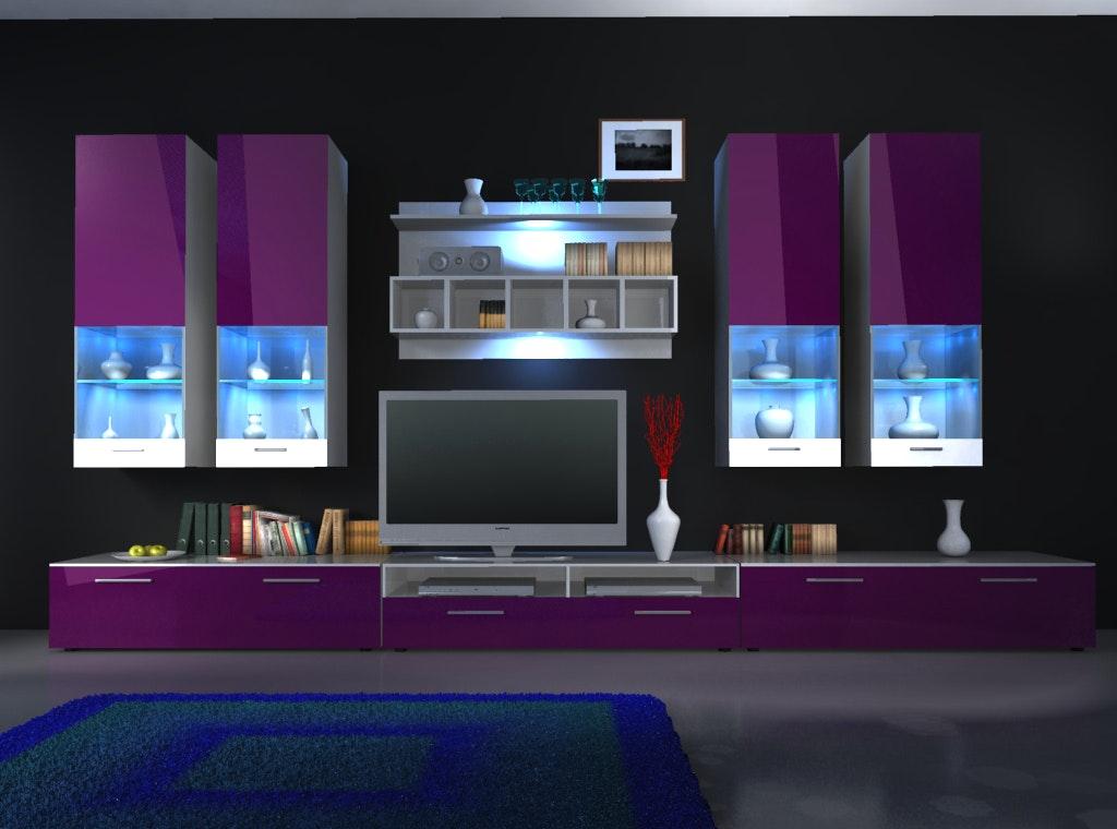 Pinke Wohnwand Bemerkenswert On Andere Für Home Dekor Beeiconic Com 2