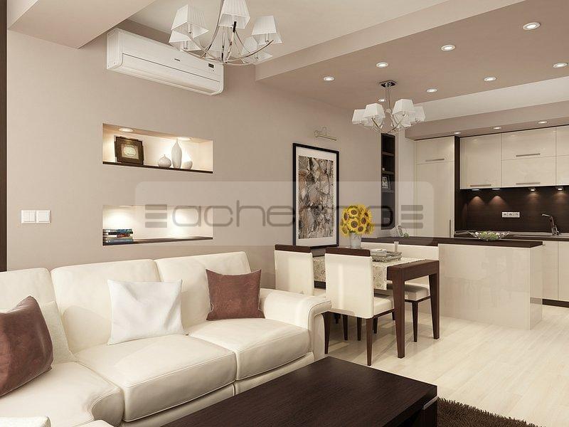 Raumgestaltung Wohnzimmer Einfach On In Bezug Auf Acherno Ideen Beliebtem Braun Und Weiß 9
