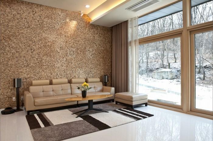 Raumgestaltung Wohnzimmer Fein On Und 70 Ideen Fur Wandgestaltung Messe 4