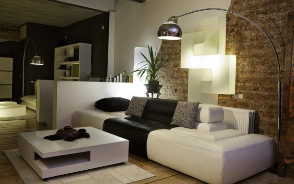 Raumgestaltung Wohnzimmer Modern On überall 1001 Wandfarben Ideen Für Eine Dramatische Gestaltung 5
