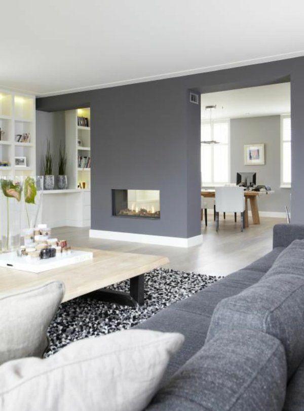 Raumgestaltung Wohnzimmer Unglaublich On In Die Besten 25 Wandgestaltung Ideen Auf Pinterest 6