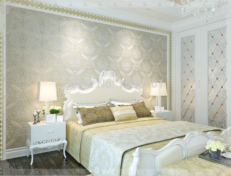 Rosentapete Schlafzimmer Bemerkenswert On Mit Moderne Tapeten Fur Für Modern Muster Tapete 8