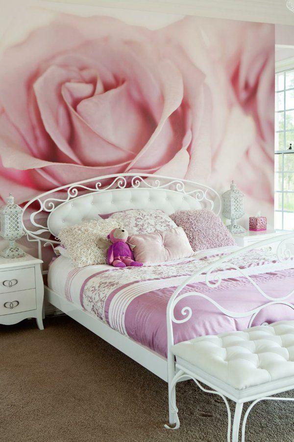 Rosentapete Schlafzimmer Großartig On Innerhalb Die Besten 25 Ideen Auf Pinterest Rosen Tapete 3d 2