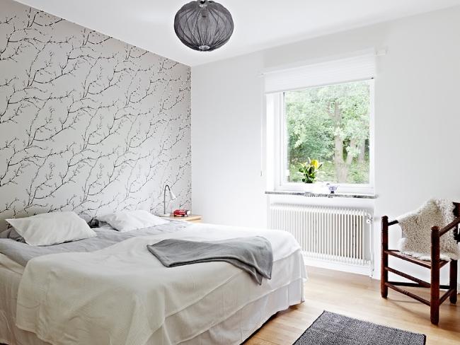 Rosentapete Schlafzimmer Schön On Für Tapeten Im 26 Wohnideen Akzentwand 7