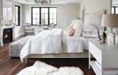 Schlafzimmer Beige Weiß Grau