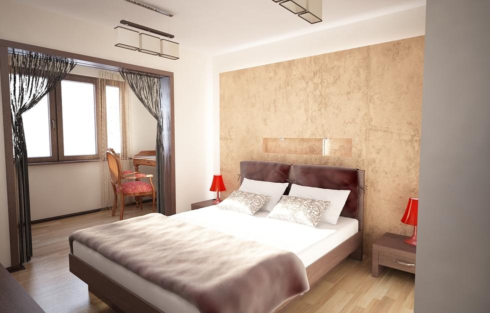 Schlafzimmer Beige Zeitgenössisch On Mit Bilder 3D Interieur Weiß 6