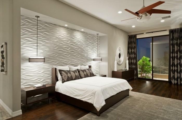 Schlafzimmer Dekorieren Einfach On Auf 77 Deko Ideen Für Einen Harmonischen Und 9