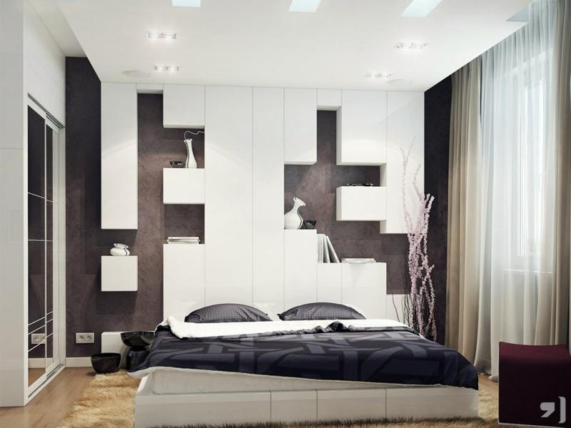 Schlafzimmer Dekorieren Einfach On Für Deko Geschickt Auf Mit 55 4