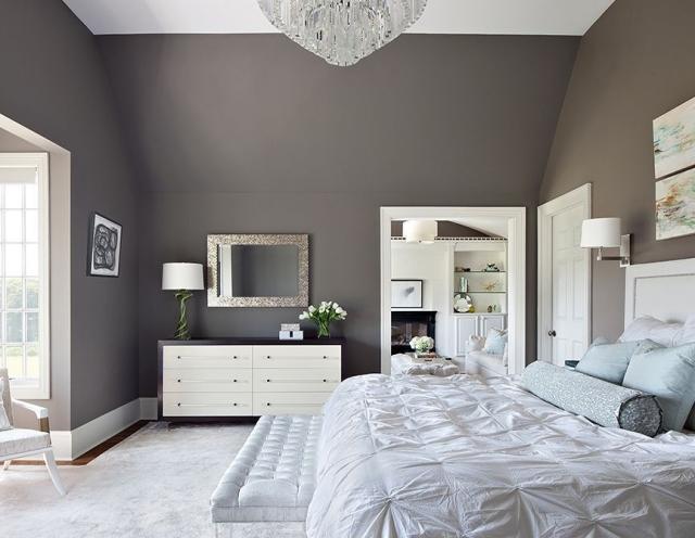 Schlafzimmer Farben Erstaunlich On In Bezug Auf Wandfarben Im 105 Ideen Für Erholsame Nächte 5