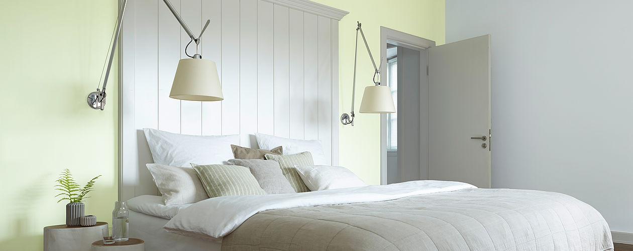 Schlafzimmer Farben Fein On In Ideen Für Die Gestaltung Vom Alpina Farbe Einrichten 9