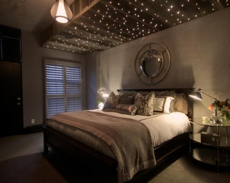 Schlafzimmer Gemütlich Bescheiden On In Romantisches Und Gemütliches Mit Lichterketten Deko 5