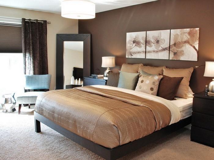 Schlafzimmer Gestalten Braun Beige Einzigartig On In Bezug Auf Farbe Wohndesign 3