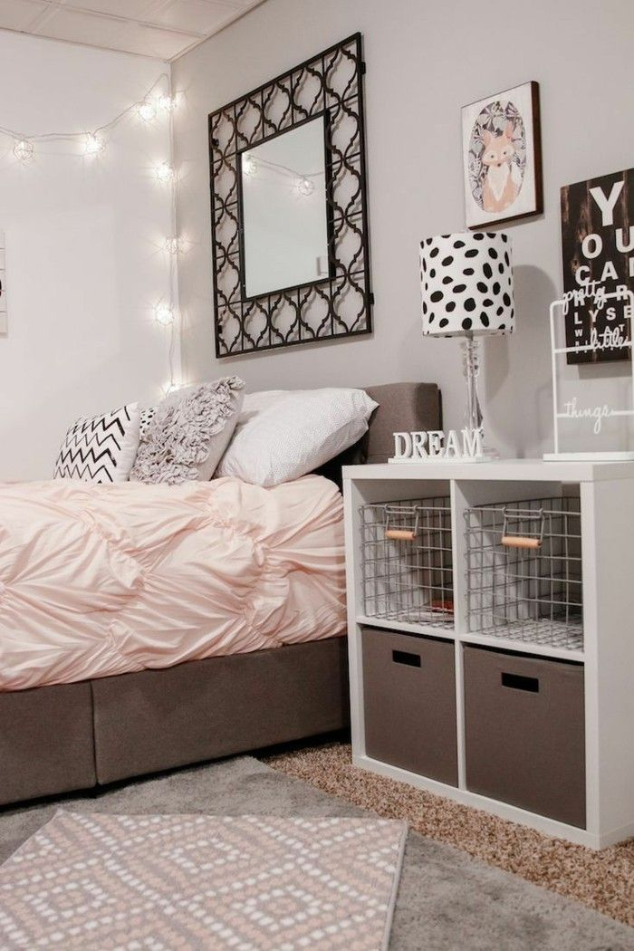 Schlafzimmer Gestalten Braun Beige Glänzend On Beabsichtigt Die Besten 25 Teenager Zimmer Ideen Auf Pinterest Modernes 5