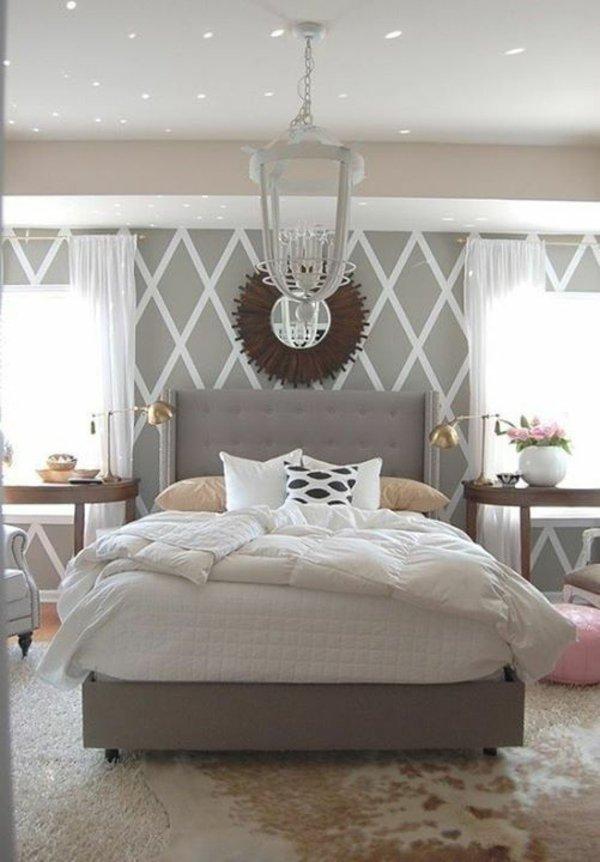 Schlafzimmer Grau Beige Interessant On Mit Weiß Arkimco Com 6