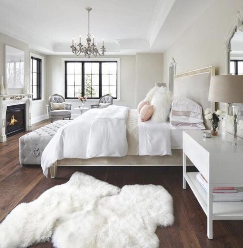 Schlafzimmer Grau Beige Modern On In Bezug Auf Wir Bauen Ein Haus Boxspringbett 7