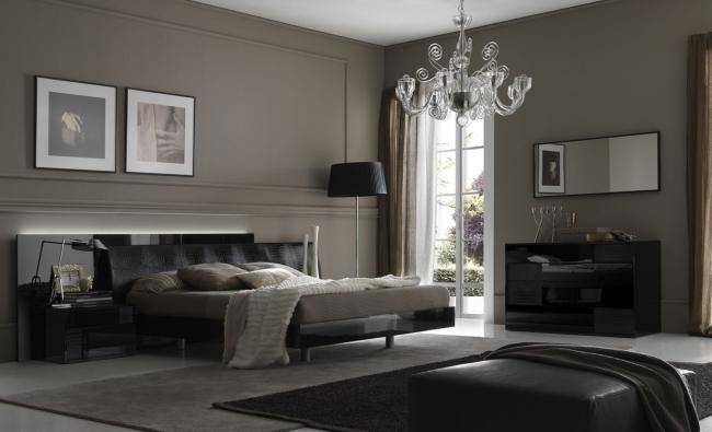 Schlafzimmer Grau Braun