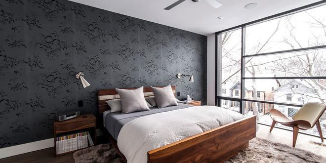 Schlafzimmer Grau Braun Perfekt On In Bezug Auf Ein Modernes Interior 6