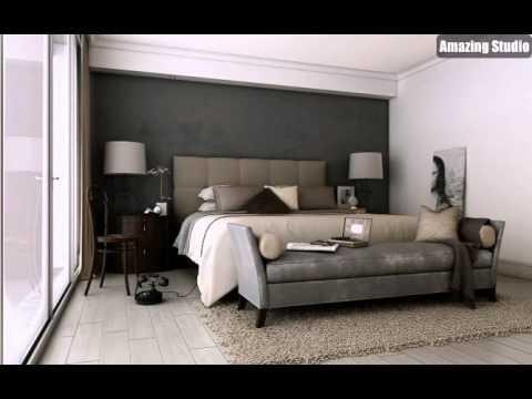 Schlafzimmer Grau Braun Stilvoll On In Bezug Auf Taupe Sophisticated YouTube 5