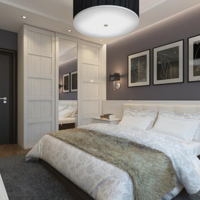 Schlafzimmer Grau Streichen Charmant On Beabsichtigt Wandfarbe Im 77 Gestaltungsideen 2