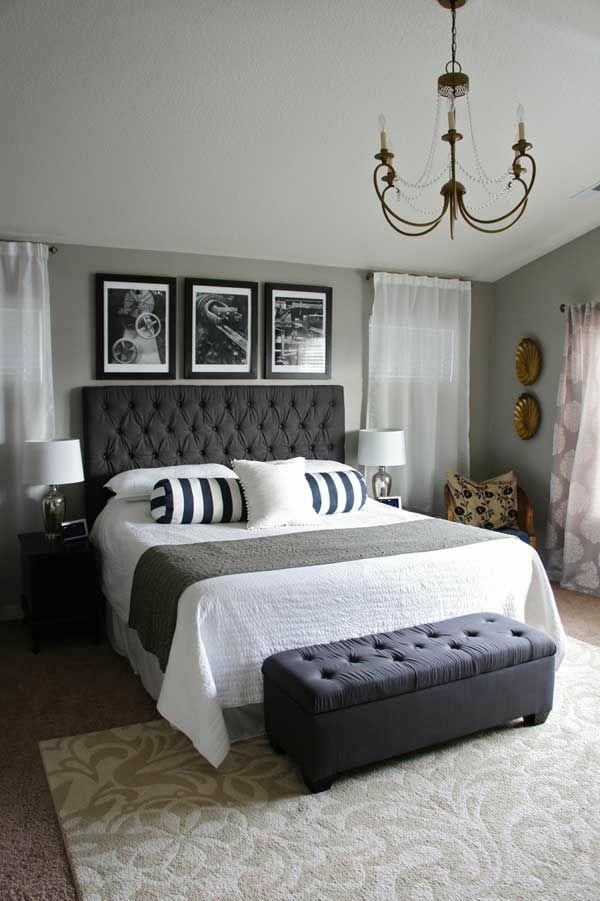 Schlafzimmer Ideen Grau Bemerkenswert On Für Gestalten Weiß Mehr Als 150 Unikale Wandfarbe 5