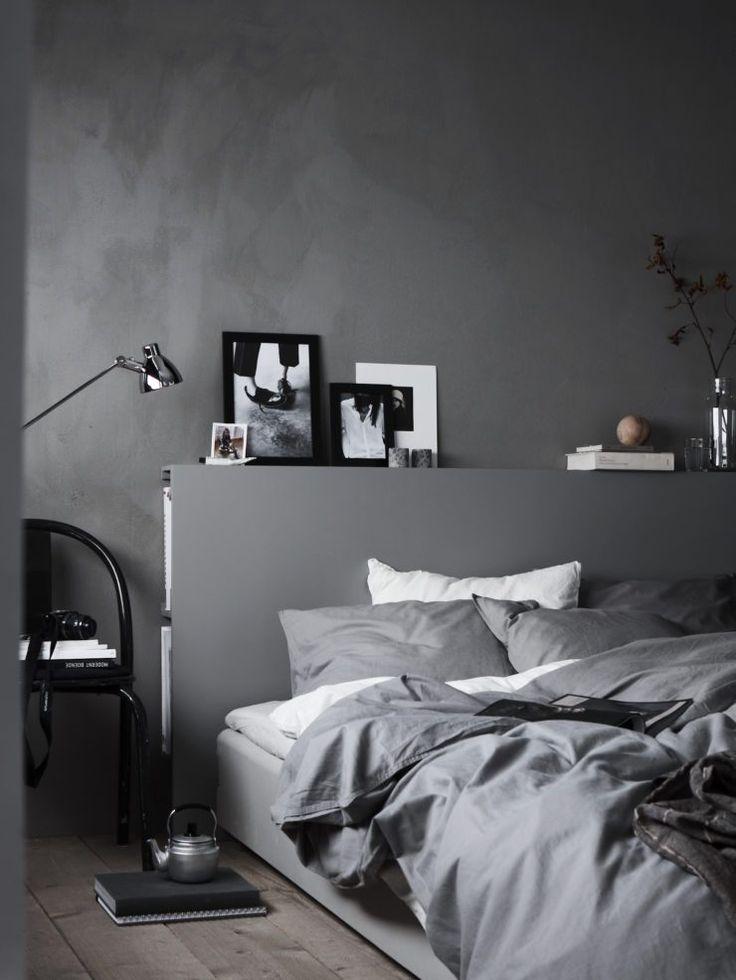 Schlafzimmer Ideen Grau Einfach On Und Die Besten 25 Graue Wände Auf Pinterest 3