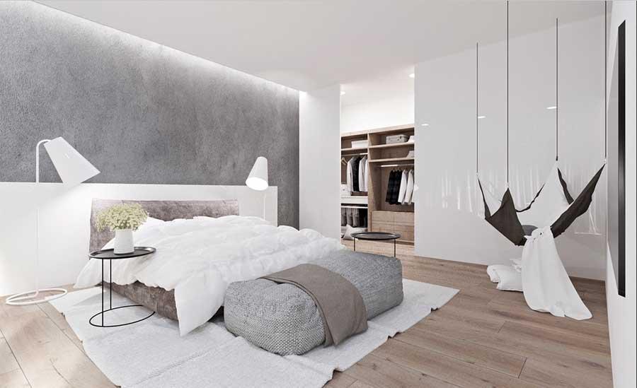 Schlafzimmer Ideen Grau Fein On Auf Schöne Zeitgenössisch überall 8