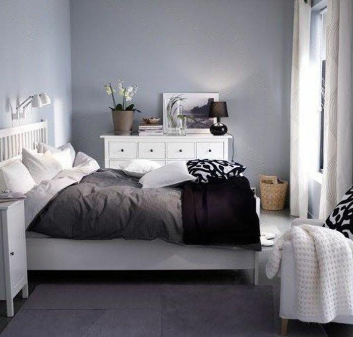 Schlafzimmer Ideen Grau Stilvoll On Beabsichtigt Wandfarbe Liebenswert 4