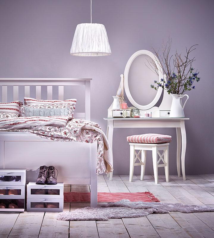 Schlafzimmer Ideen Ikea Erstaunlich On In Romantisches IKEA AT 7