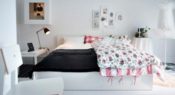 Schlafzimmer Ideen Ikea Fein On Für 17 Tolle Designs Komplettes IKEA 5