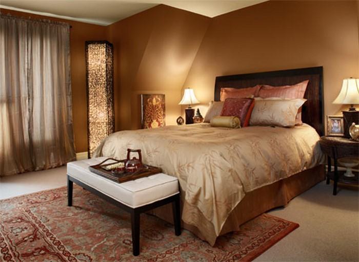 Schlafzimmer Ideen Wandgestaltung Braun Kreativ On In Bezug Auf Gestalten 81 Tolle 6