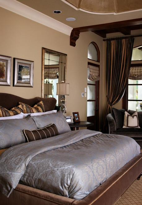 Schlafzimmer Ideen Wandgestaltung Braun Wunderbar On Für Wandfarbe Zimmer Streichen In FresHouse 7