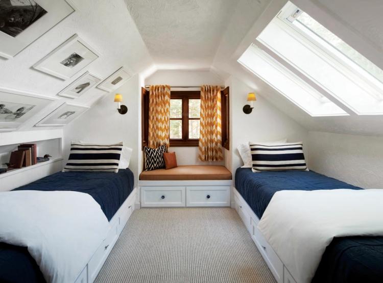 Schlafzimmer Ideen Wandgestaltung Dachschräge Frisch On Auf Mit Schöne Gestaltungsideen 8