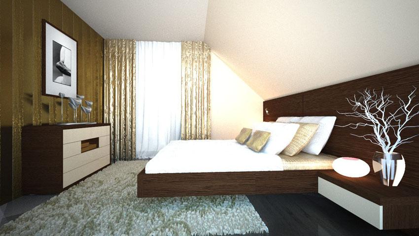 Schlafzimmer Ideen Wandgestaltung Dachschräge Imposing On In Dachschrge Design 9