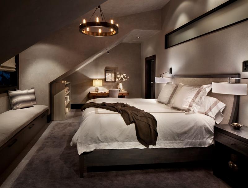 Schlafzimmer Ideen Wandgestaltung Dachschräge Nett On überall Mit Gestalten 23 Wohnideen 3