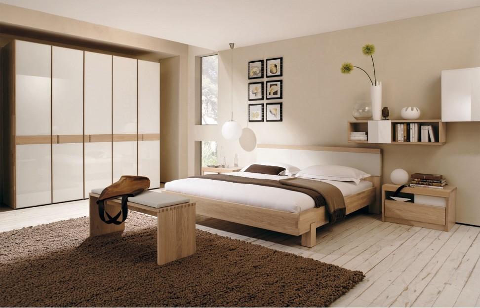 Schlafzimmer In Braun Und Beige Tönen Glänzend On Mit Wandfarbe 40 Der 4