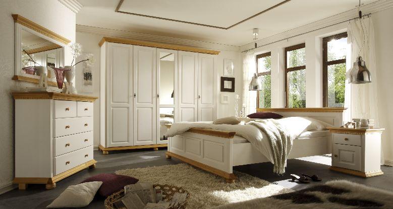 Schlafzimmer Landhausstil Weiß Modern