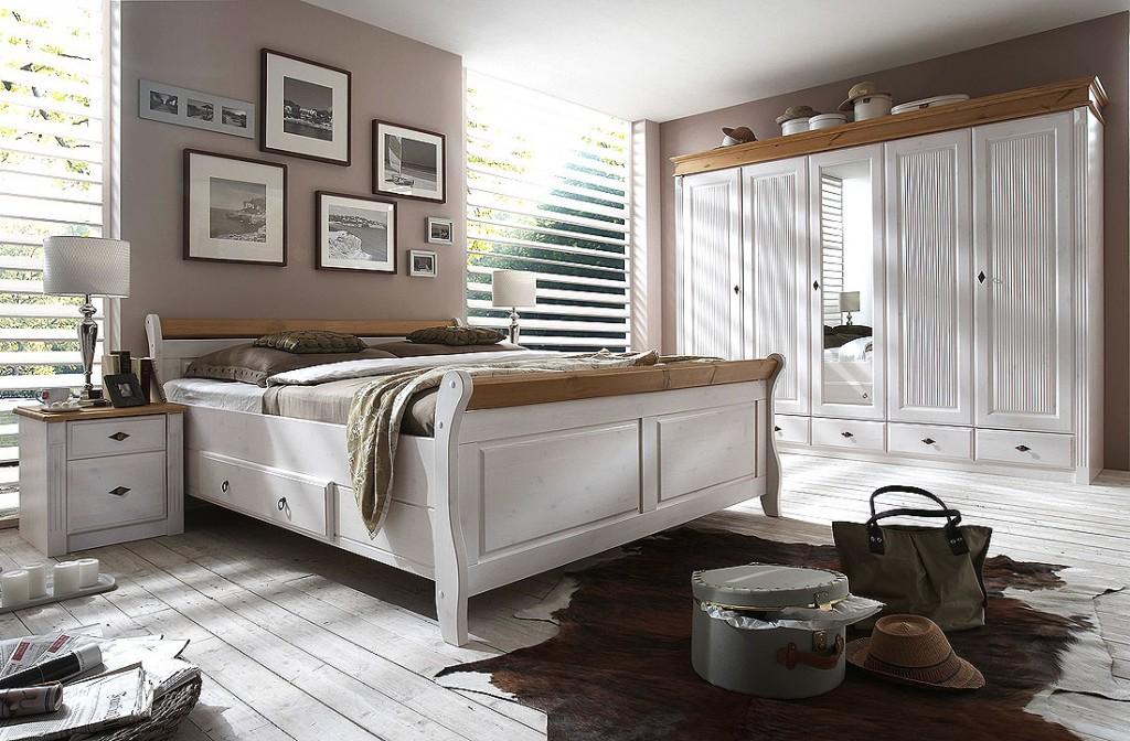 Schlafzimmer Landhausstil Weiß Modern Exquisit On Innerhalb Wohndesign Phantasie Landhaus Weiss Ideen 8