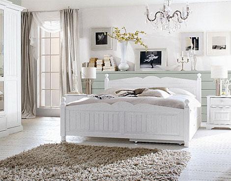 Schlafzimmer Landhausstil Weiß Modern On Für Betten Im Jetzt Günstig Online Kaufen über Moebel De 1