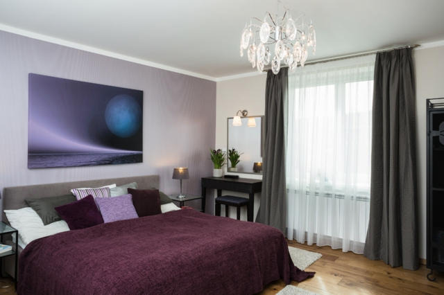 Schlafzimmer Lila Grau Ausgezeichnet On Beabsichtigt Farbgestaltung Für Das Geheimnisvolle 3