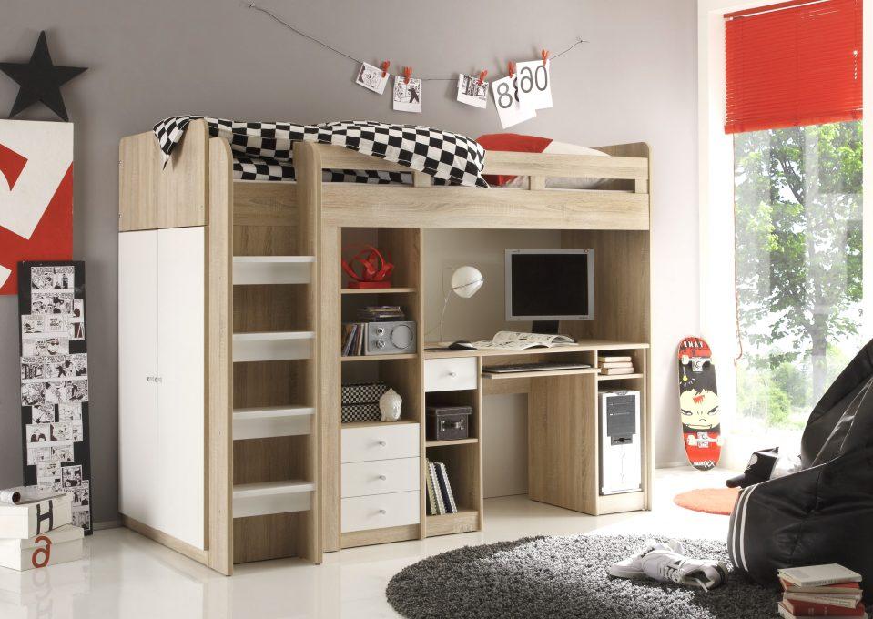 Schlafzimmer Mit Eingebautem Schreibtisch Charmant On Für Uncategorized 3