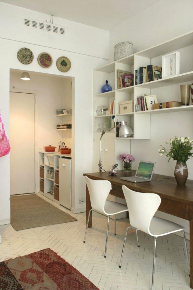 Schlafzimmer Mit Eingebautem Schreibtisch Einfach On Innerhalb Stilvoll Innen 4