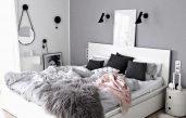 Schlafzimmer Mit Malm Bett