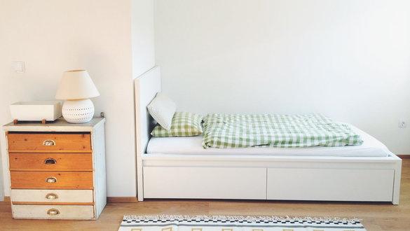 Schlafzimmer Mit Malm Bett Fein On Innerhalb Tolle Ideen Für Das Einrichten Der IKEA MALM Serie 4
