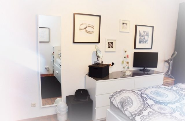 Schlafzimmer Mit Malm Bett Frisch On Und Wohngoldstck Ikea Hack 6