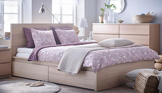 Schlafzimmer Mit Malm Bett Imposing On überall MALM Serie IKEA 2