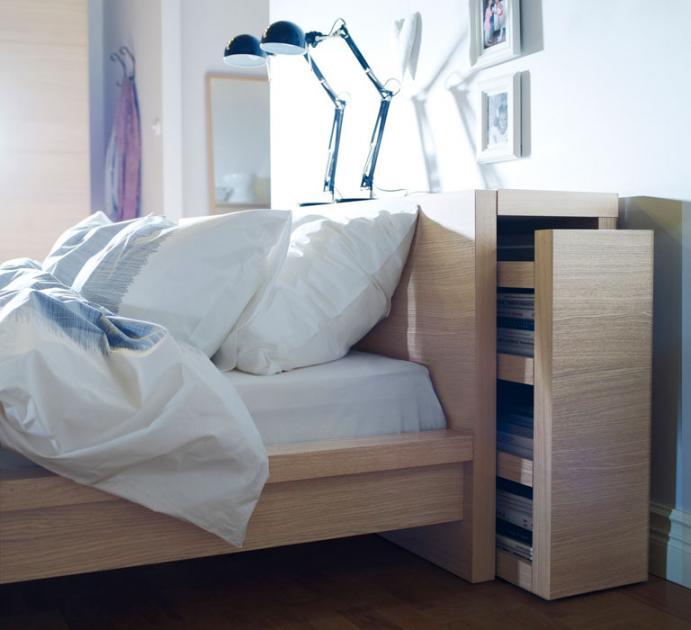 Schlafzimmer Mit Malm Bett Imposing On Und Von Ikea In Weiß SCHÖNER WOHNEN 9
