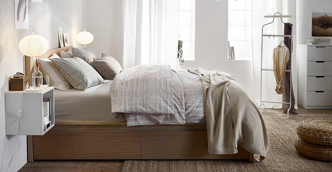 Schlafzimmer Mit Malm Bett Perfekt On MALM Serie IKEA 8