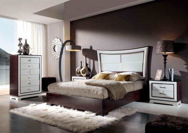 Schlafzimmer Modern Braun Imposing On überall Beige Wohndesign 7